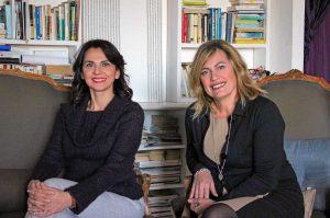 Ivana Pagliara e Maria Luigina Paoli