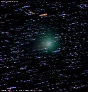 La cometa Iwamoto