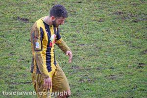 Sport - Calcio - Viterbese - Francesco De Giorgi dopo l'espulsione