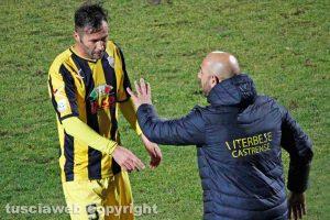 Sport - Calcio - Viterbese - Antonio Calabro e Michele Rinaldi