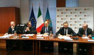 Roma - La conferenza sulle strade in Regione