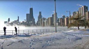 Stati Uniti - Freddo record a Chicago