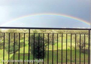 Viterbo - Arcobaleno da ponte dell'Elce
