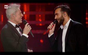 Sanremo 2019 - Claudio Baglioni e Marco Mengoni