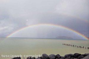 Marta - Arcobaleno sul lago di Bolsena