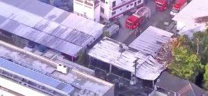 Rio de Janeiro - Il centro sportivo del Flamengo colpito dall'incendio
