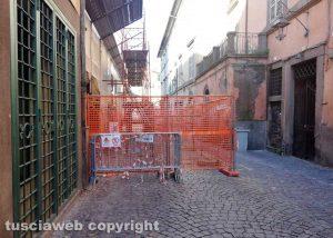 Viterbo- Via Cardinal La Fontaine riapre ai pedoni