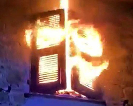 Marta - appartamento in fiamme