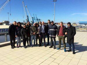 Civitavecchia - Visita doganale dell'Albania all'ufficio dell'Adm