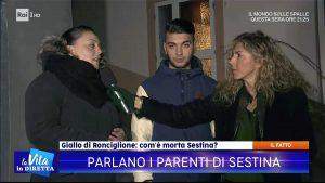 Giallo di Ronciglione - Il fratello e la cugina di Maria Sestina Arcuri alla Vita in diretta