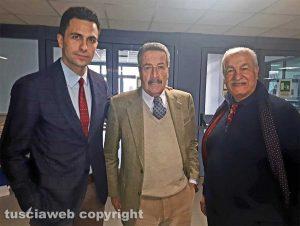 Tribunale - Da sinistra gli avvocati Fausto Barili e Mario Giraldi con Consiglio Di Guglielmo