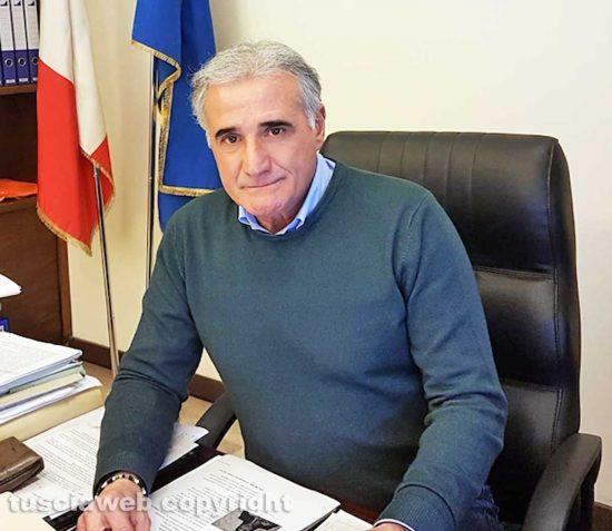 Viterbo - Il presidente dell'Ater Ivan Grazini