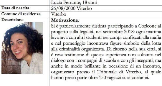 Alfiere della repubblica - Lucia Ferrante