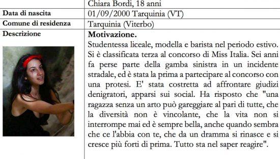 Alfiere della repubblica - Chiara Bordi
