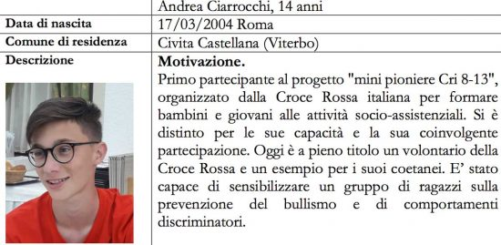 Alfiere della repubblica - Andrea Ciarrocchi