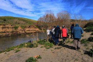 Tarquinia - La passeggiata ecologica organizzata dall'associazione Una primavera per Tarquinia