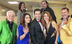 Il cast dello spettacolo Call center 3.0