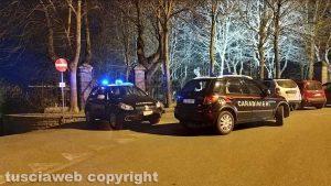 Montefiascone - I controlli dei carabinieri a piazzale Roma e al prato giardino