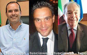 Sergio Caci, Alessandro Fiordomi e Carmelo Messina