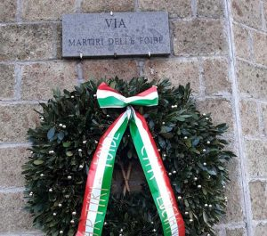 Vetralla - La commemorazione delle Foibe