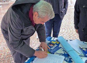 Viterbo - Il gazebo della Lega a piazza delle Erbe