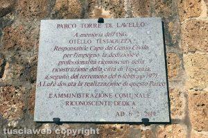 Tuscania - Le celebrazioni per l'anniversario del terremoto