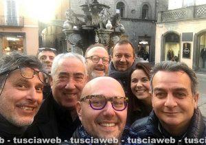 Nunzi e Scardozzi passano a FdI - Selfie a piazza delle Erbe