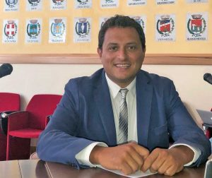 Il vicepresidente della Provincia Fabio Valentini