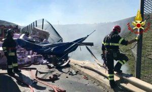 Enna - Incidente sulla A19