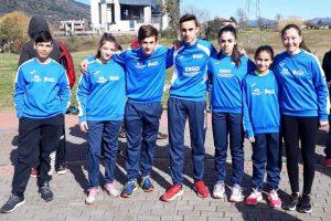 Sport - Atletica leggera - I ragazzi della Finass a Cassino