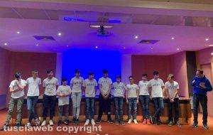 Nuoto club Viterbo - Squadra under 15