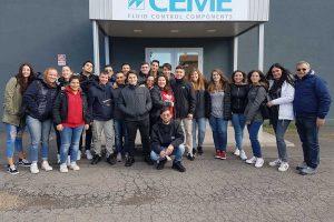Tarquinia - Gli studenti dell'Iis Cardarelli durante il corso sulla sicurezza