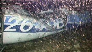 Emiliano Sala - Il relitto dell'aereo in fondo al mare