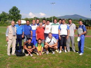 Atletica - La nazionale di lanci a Viterbo