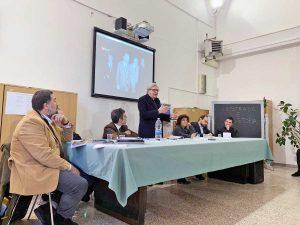 Sutri - Vittorio Sgarbi all'intitolazione di un largo a Jan Palach