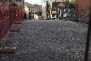 Viterbo - I lavori a San Faustino