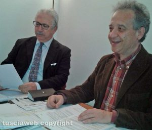 L'avvocato Roberto Alabiso e il dentista Gianfranco Fiorita