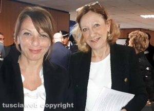 Tribunale - La dg Asl, Daniela Donetti e la presidente Maria Rosaria Covelli (a destra)