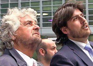 Stefano Buffagni con Beppe Grillo