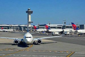 New York - L'aeroporto Kfk
