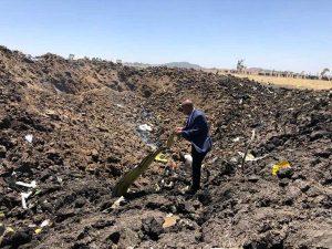 Precipitato aereo della Ethiopian Airlines