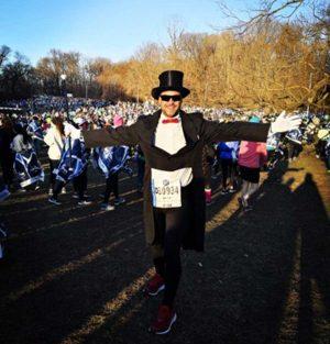 Bruno Buzzi alla Mezza maratona di NY