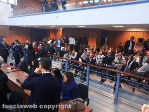 Siglata in tribunale la convenzione con il carcere di Mammagialla