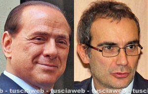 Silvio Berlusconi e Fabrizio Tucci