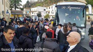 Incendio sulla ferrovia a Orte - Passeggeri bloccati a Poggio Mirteto