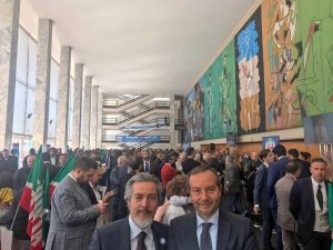 L'assemblea nazionale di Forza Italia