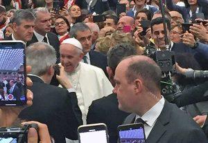 L'Ali di Viterbo all'udienza generale con papa Francesco