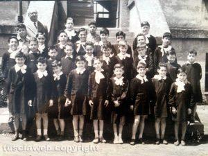 Viterbo - Anni '50 - Foto di classe
