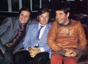 Mario Marenco con Renzo Arbore e Gianni Boncompagni