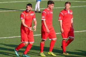 Sport - Calcio - Monterosi - I biancorossi in campo